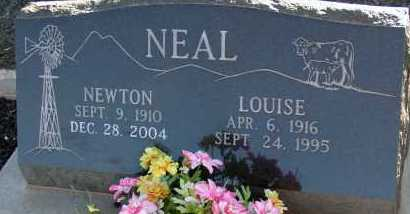 NEAL, LOUISE - Apache County, Arizona | LOUISE NEAL - Arizona Gravestone Photos