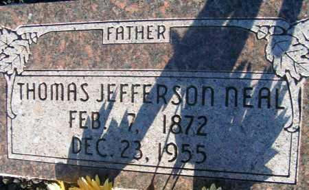 NEAL, THOMAS JEFFERSON - Apache County, Arizona   THOMAS JEFFERSON NEAL - Arizona Gravestone Photos