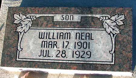 NEAL, WILLIAM - Apache County, Arizona | WILLIAM NEAL - Arizona Gravestone Photos