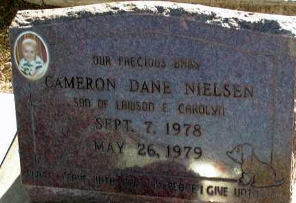 NIELSEN, CAMERON DANE - Apache County, Arizona | CAMERON DANE NIELSEN - Arizona Gravestone Photos