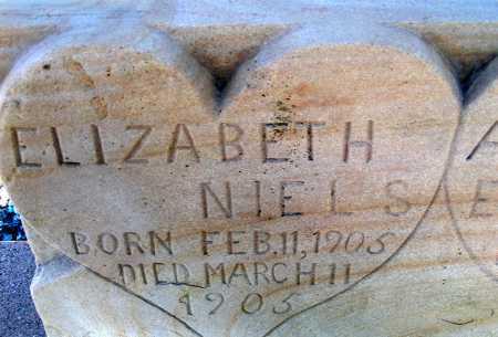 NIELSEN, ELIZABETH - Apache County, Arizona   ELIZABETH NIELSEN - Arizona Gravestone Photos
