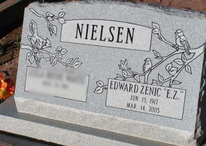 NIELSEN, EDWARD ZENIC - Apache County, Arizona | EDWARD ZENIC NIELSEN - Arizona Gravestone Photos