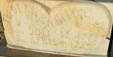 NIELSEN, FREDERICK M. JR. - Apache County, Arizona | FREDERICK M. JR. NIELSEN - Arizona Gravestone Photos