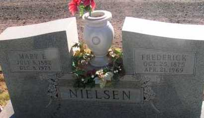 HOLGATE NIELSEN, MARY E. - Apache County, Arizona   MARY E. HOLGATE NIELSEN - Arizona Gravestone Photos