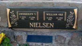 NIELSEN, WILLIAM OLE - Apache County, Arizona | WILLIAM OLE NIELSEN - Arizona Gravestone Photos