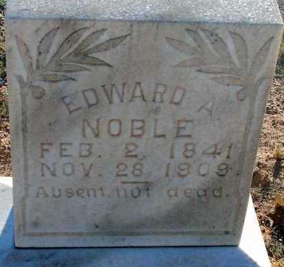 NOBLE, EDWARD A. - Apache County, Arizona | EDWARD A. NOBLE - Arizona Gravestone Photos