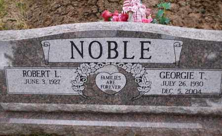 NOBLE, GEORGIE T. - Apache County, Arizona | GEORGIE T. NOBLE - Arizona Gravestone Photos