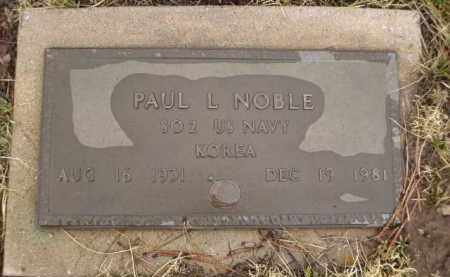 NOBLE, PAUL L. - Apache County, Arizona | PAUL L. NOBLE - Arizona Gravestone Photos