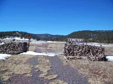 *NUTRIOSO, CEMETERY GATE - Apache County, Arizona | CEMETERY GATE *NUTRIOSO - Arizona Gravestone Photos