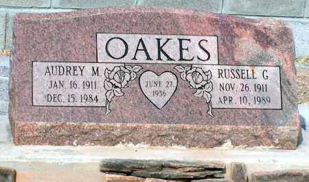 OAKES, RUSSELL G. - Apache County, Arizona | RUSSELL G. OAKES - Arizona Gravestone Photos