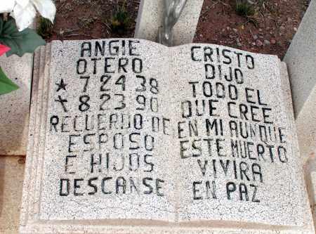 OTERO, ANGIE - Apache County, Arizona | ANGIE OTERO - Arizona Gravestone Photos