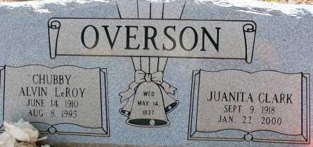 OVERSON, ALVIN LEROY - Apache County, Arizona | ALVIN LEROY OVERSON - Arizona Gravestone Photos