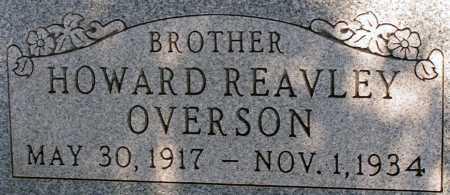 OVERSON, HOWARD REAVLEY - Apache County, Arizona | HOWARD REAVLEY OVERSON - Arizona Gravestone Photos