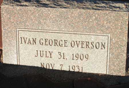 OVERSON, IVAN GEORGE - Apache County, Arizona | IVAN GEORGE OVERSON - Arizona Gravestone Photos