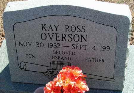 OVERSON, KAY ROSS - Apache County, Arizona | KAY ROSS OVERSON - Arizona Gravestone Photos