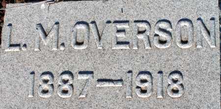 OVERSON, L.M. - Apache County, Arizona | L.M. OVERSON - Arizona Gravestone Photos