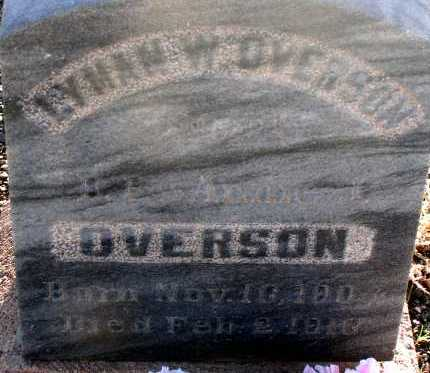 OVERSON, LYMAN W. - Apache County, Arizona | LYMAN W. OVERSON - Arizona Gravestone Photos