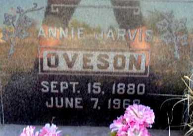 OVESON, ANNIE - Apache County, Arizona | ANNIE OVESON - Arizona Gravestone Photos