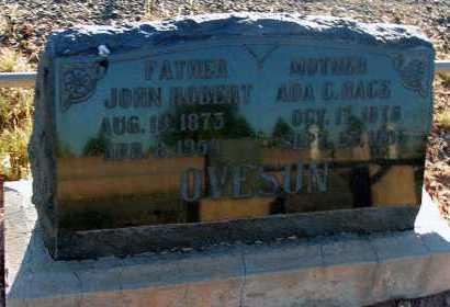 OVESON, JOHN ROBERT - Apache County, Arizona | JOHN ROBERT OVESON - Arizona Gravestone Photos