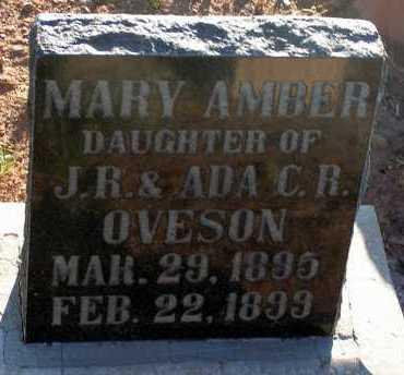 OVESON, MARY AMBER - Apache County, Arizona   MARY AMBER OVESON - Arizona Gravestone Photos