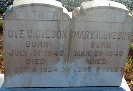 OVESON, MARY K. - Apache County, Arizona | MARY K. OVESON - Arizona Gravestone Photos