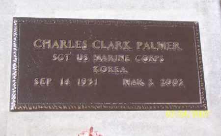 PALMER, CHARLES CLARK - Apache County, Arizona | CHARLES CLARK PALMER - Arizona Gravestone Photos