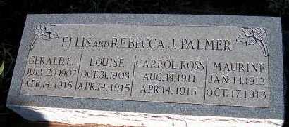 PALMER, LOUISE - Apache County, Arizona | LOUISE PALMER - Arizona Gravestone Photos