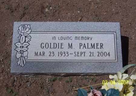 PALMER, GOLDIE M. - Apache County, Arizona   GOLDIE M. PALMER - Arizona Gravestone Photos