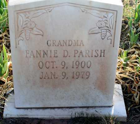 PARISH, FANNIE - Apache County, Arizona   FANNIE PARISH - Arizona Gravestone Photos