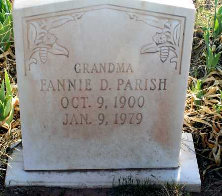 PARISH, FANNIE - Apache County, Arizona | FANNIE PARISH - Arizona Gravestone Photos