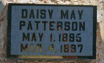 PATTERSON, DAISY MAY - Apache County, Arizona | DAISY MAY PATTERSON - Arizona Gravestone Photos
