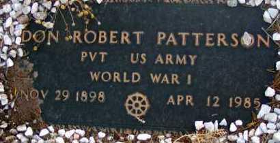 PATTERSON, DON ROBERT - Apache County, Arizona | DON ROBERT PATTERSON - Arizona Gravestone Photos