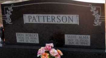 PATTERSON, DON ROBERT - Apache County, Arizona   DON ROBERT PATTERSON - Arizona Gravestone Photos