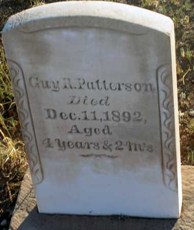 PATTERSON, GUY R. - Apache County, Arizona | GUY R. PATTERSON - Arizona Gravestone Photos