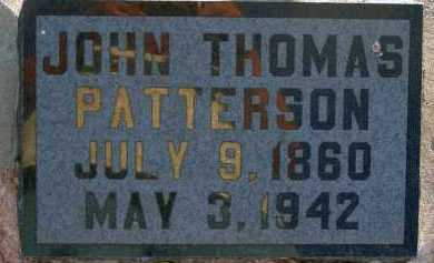 PATTERSON, JOHN THOMAS - Apache County, Arizona | JOHN THOMAS PATTERSON - Arizona Gravestone Photos