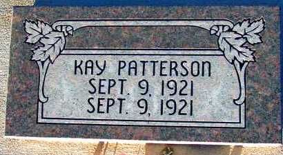 PATTERSON, KAY - Apache County, Arizona | KAY PATTERSON - Arizona Gravestone Photos