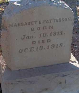 PATTERSON, MARGARET E. - Apache County, Arizona   MARGARET E. PATTERSON - Arizona Gravestone Photos