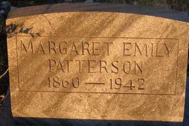 PATTERSON, MARGARET EMILY - Apache County, Arizona | MARGARET EMILY PATTERSON - Arizona Gravestone Photos