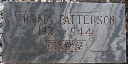 PATTERSON, VIRGINIA - Apache County, Arizona | VIRGINIA PATTERSON - Arizona Gravestone Photos