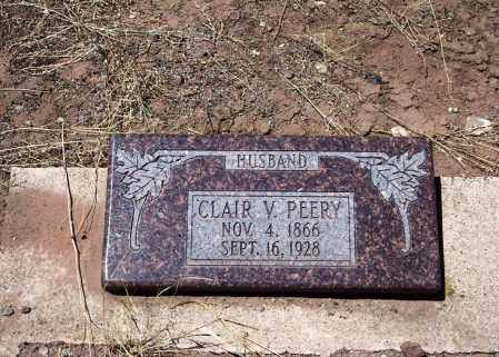 PEERY, CLAIR V - Apache County, Arizona | CLAIR V PEERY - Arizona Gravestone Photos