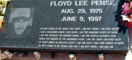 PENSE, FLOYD LEE - Apache County, Arizona   FLOYD LEE PENSE - Arizona Gravestone Photos