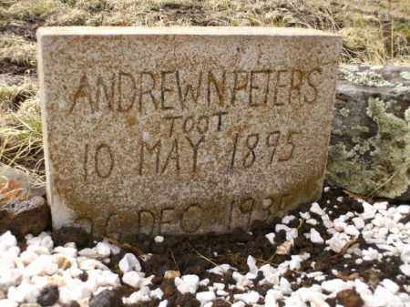 PETERS, ANDREW N. - Apache County, Arizona | ANDREW N. PETERS - Arizona Gravestone Photos