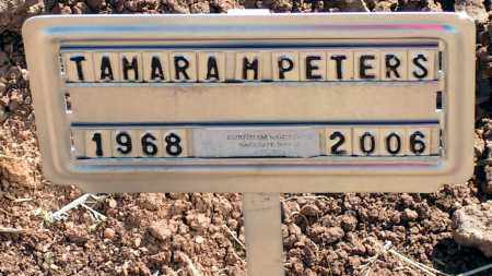 PETERS, TAMARA M. - Apache County, Arizona | TAMARA M. PETERS - Arizona Gravestone Photos