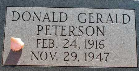 PETERSON, DONALD GERALD - Apache County, Arizona | DONALD GERALD PETERSON - Arizona Gravestone Photos