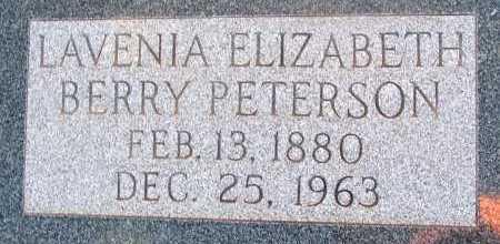 PETERSON, LAVENIA ELIZABETH - Apache County, Arizona   LAVENIA ELIZABETH PETERSON - Arizona Gravestone Photos