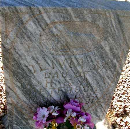 PETERSON, OLIVA M. - Apache County, Arizona | OLIVA M. PETERSON - Arizona Gravestone Photos