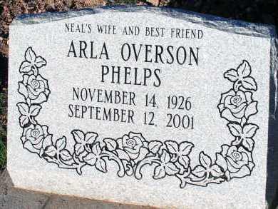 PHELPS, ARLA - Apache County, Arizona | ARLA PHELPS - Arizona Gravestone Photos