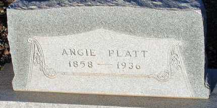 PLATT, ANGIE - Apache County, Arizona | ANGIE PLATT - Arizona Gravestone Photos