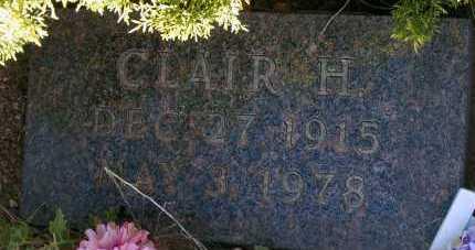 PLATT, CLAIR H. - Apache County, Arizona   CLAIR H. PLATT - Arizona Gravestone Photos