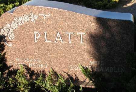 HAMBLIN PLATT, LOUISE - Apache County, Arizona | LOUISE HAMBLIN PLATT - Arizona Gravestone Photos